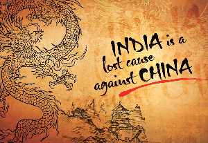 India is a lost cause  against China