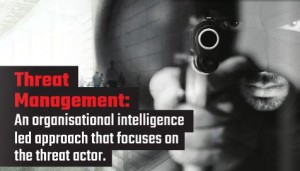 Threat Management: an organisational intelligence led approach that focuses on the threat actor